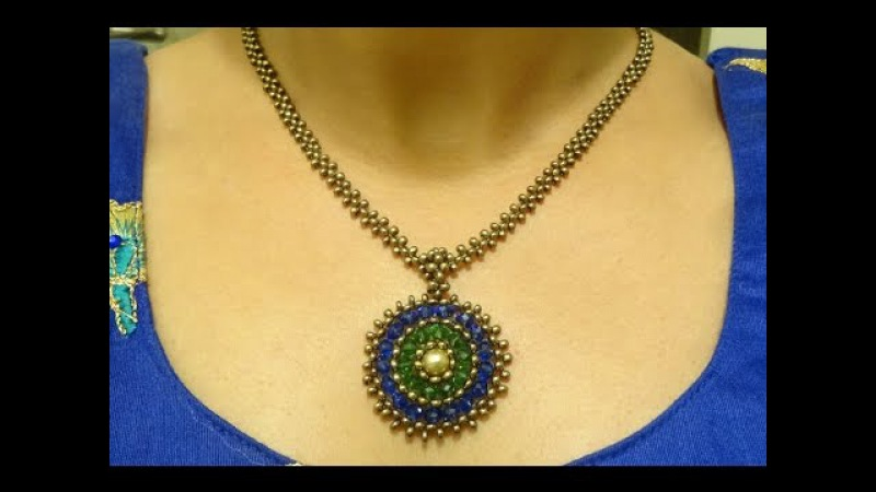Part II How to make beaded bail chain and clasp