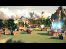 Анимация города для воинов для браузерной игры Иллюзия Власти