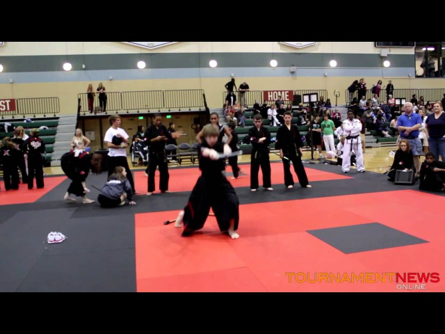 Carson Crawford Extreme Weapons (tie-breaker) at ATA Fall Nationals 2012