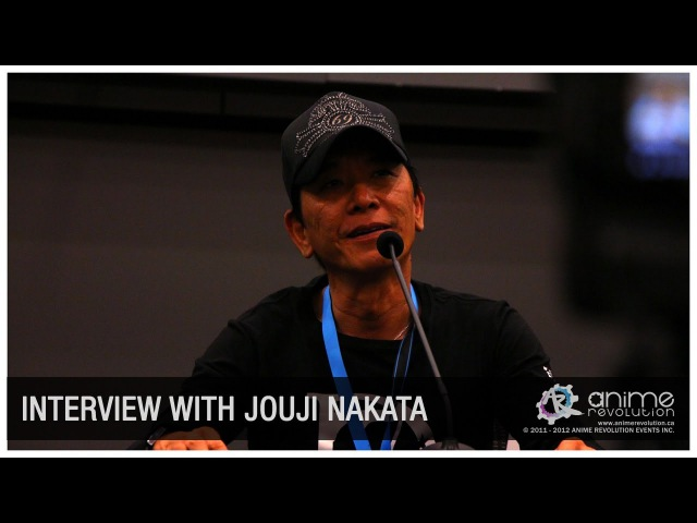 ANIREVO SUMMER 2012 Nakata Jouji Exclusive Interview