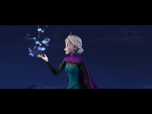 Disney's Frozen Let It Go Sequence Performed by Idina Menzel