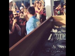 Tiesto Cabana Pool Bar 2015