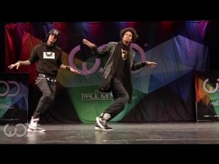 Les Twins || FRONTROW || World of Dance Las Vegas 2014 #WODVEGAS