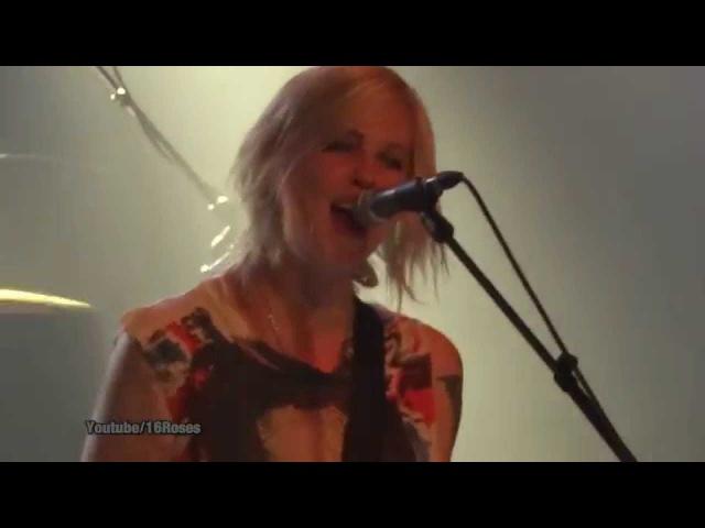 Brody Dalle LIVE Meet The Foetus Oh The Joy @Berlin Apr 30 2014