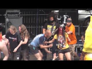URTIKARIA ANAL Live At OBSCENE EXTREME 2015 HD