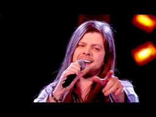 "Шоу ""Голос"" Великобритания 2013.  Адам Баррон с песней ""Может быть, я поражен"".  The Voice UK 2013. -  Adam Barron performs ""Maybe I'm Amazed"" by Paul McCartney and Wings. - BBC One"