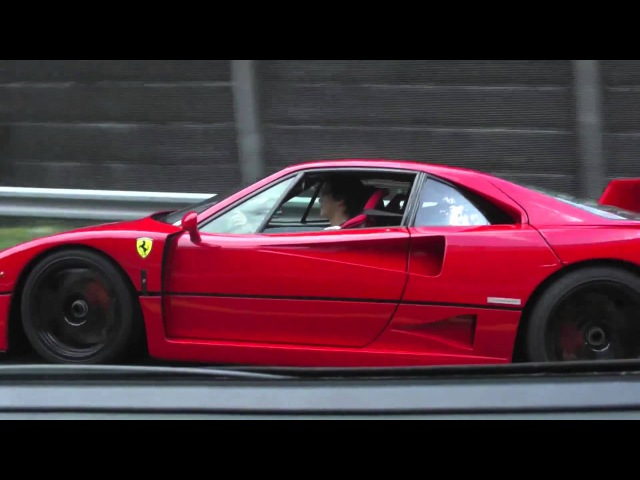 Ferrari F40 Acceleration Tunnel Rev (HD)