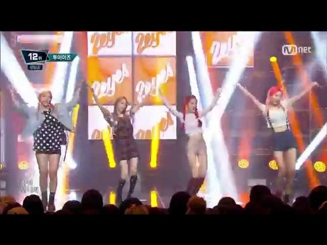 (150903) 2EYES (투아이즈) - PIPPI @ Mnet M!COUNTDOWN