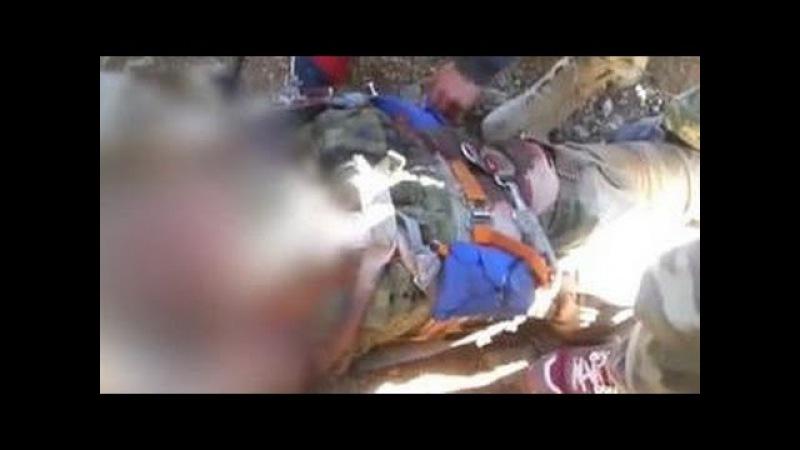 Атака на Су 24 российского летчика расстреляли после катапультирования