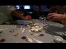 Chef Grant Achatz Preparing Dessert at Alinea