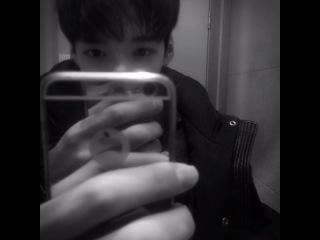 """160127 SunWoo on Instagram: """"Я не могу сконцентрироваться на учёбе т.т"""""""