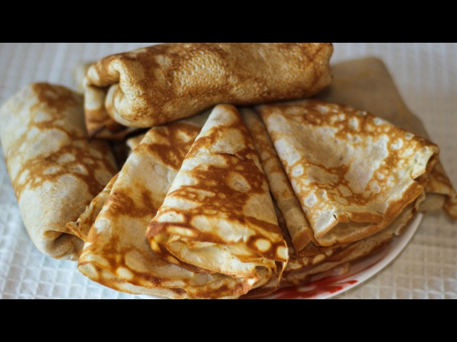 ГРЕЧНЕВЫЕ БЛИНЫ без дрожжей Buckwheat Pancakes Without Yeast ✧ Ирина Кукинг