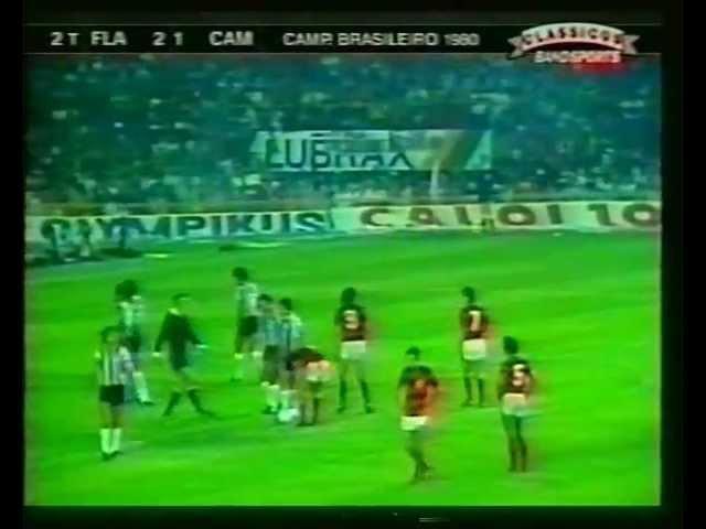 Flamengo 3x2 Atlético-MG [Final Brasileirão 1980]