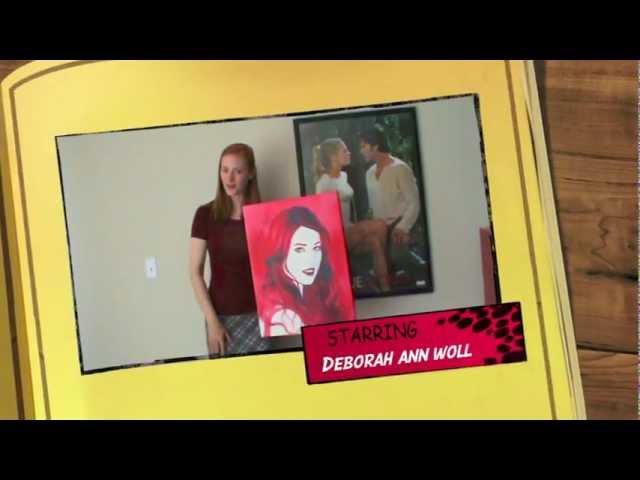 Deborah Ann Woll shows portrait by Steve Cleff