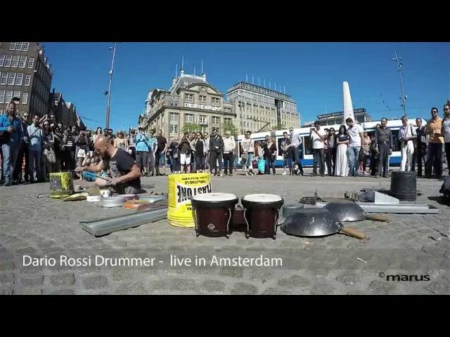 Drummer Dario Rossi - live in Amsterdam ©marus