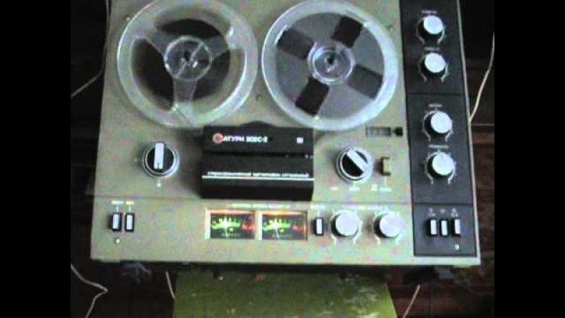 катушечный магнитофон САТУРН 202С 2 сделано в СССР