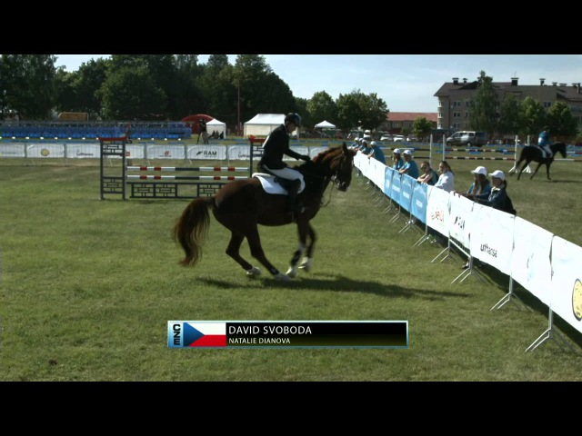 UIPM 2015 World Cup Final Team Mixed Relay Riding