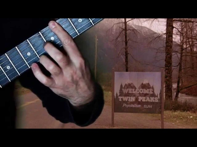 Twin Peaks Laura Palmer's Theme Fingerstyle Guitar Cover