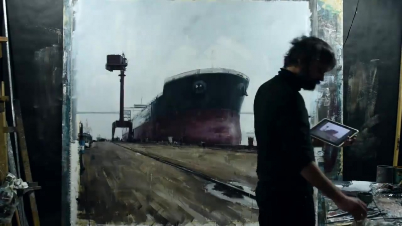 Valerio D'Ospina Speed Painting