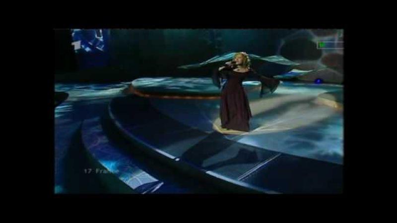 Eurovision 2002 17 France *Sandrine François* *Il Fait Du Temps* 16 9 HQ