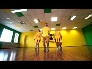 FlashMob 300 танцевальных движений - Major Lazer Feat. M  DJ Snake  -  Lean On