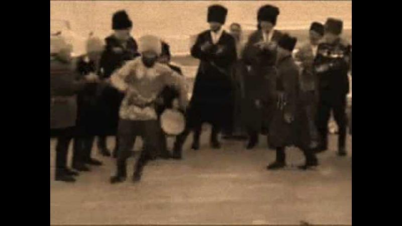 Снежочки казачья лезгинка Caucasian Cossacks' Dance