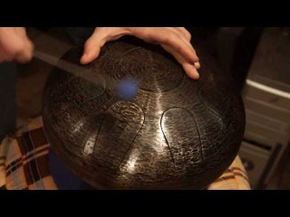 Hand Drum by Aleksoundrums | minor pentatonic |  9 note (глюкофон - младший брат ханга (Hang drum))