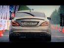 Mercedes CLS 63 AMG VS Mercedes S 65 AMG Porsche Switzer R911 1 mile 25 5 sec