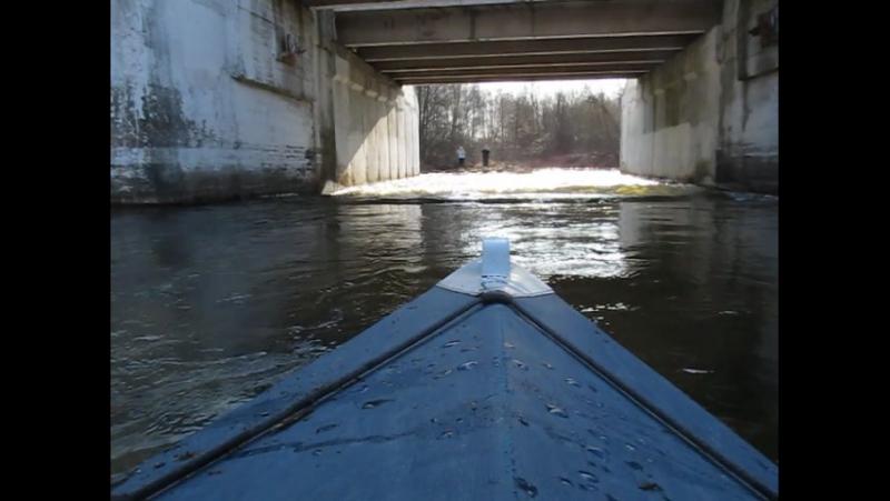 Поход Клуба Активного Отдыха Відчайдухи по реке Ивотка Апрель 2015