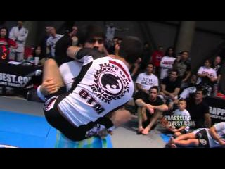 4 Triangle Submissions from Sean Roberts of Ralph Gracie No Gi BJJ Jiu Jitsu Submission Wrestling