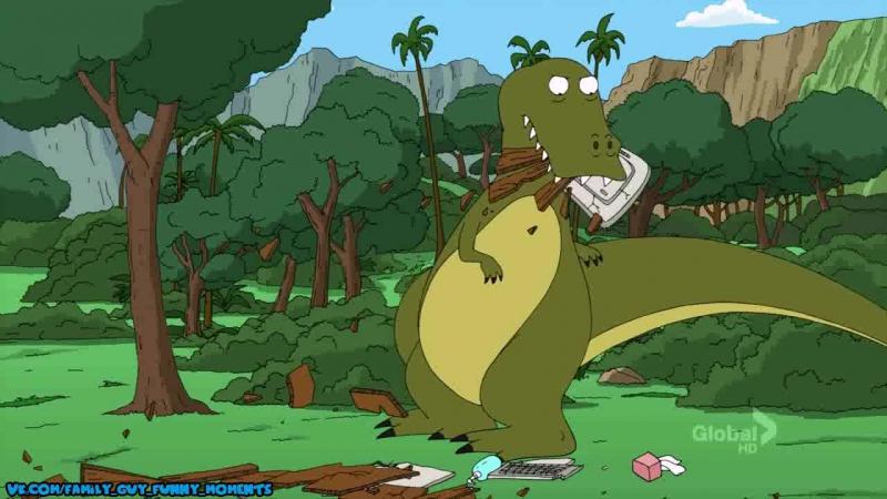 не дрочащий вовсе тиранозавр рекс _D