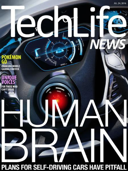 Book cover Techlife News - 24 July 2016