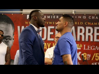 Deontay Wilder vs. Chris Arreola Intense Face Off at Final Press Conference!