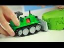 Открываем игрушки машинку Бульдозер, Кораблик и Танковый бой от фабрики Форма