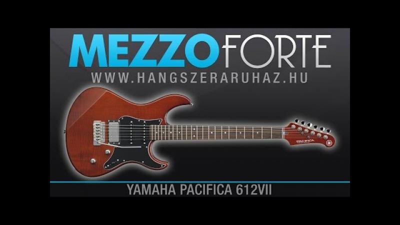 Yamaha Pacifica 612VII ►Uptempo Rock Guitar Solo
