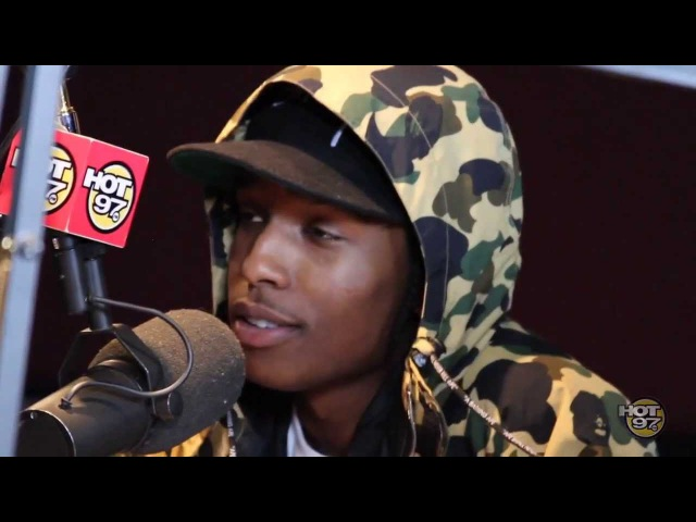 A$AP Rocky Exclusive Interview with Angie Martinez