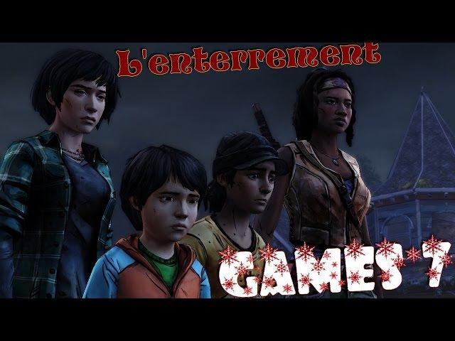 The Walking Dead Michonne E 3 Games*7 L'enterrement