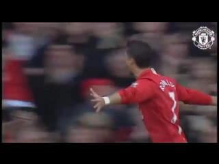 "100-й гол Роналду за ""Манчестер Юнайтед"""