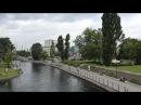 Brda Bydgoszcz widok z mostu Jerzego Sulimy Kamińskiego na zachód panorama timelapse