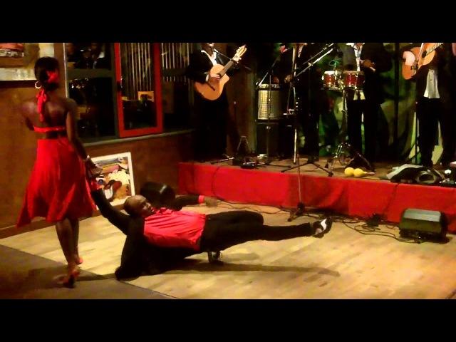 YORDANI y ALIUSKA démo Son à Sabor Latino Orléans, concert SON TRINIDAD