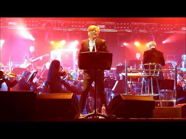 Би 2 Варвара с симфоническим оркестром другой ракурс Красноярск 23.04.16