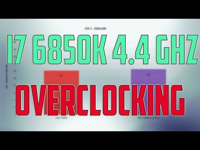 Intel i7 6850K OVERCLOCK REVIEW BENCHMARK Overclocking GAMING TESTS Win 10