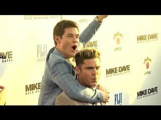 Zac Efron premieres his latest comedy in Hollywood