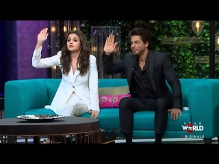 Promo 2: Shah Rukh Khan & Alia Bhatt's Rapid Fire Round On Koffee With Karan Show | 2016
