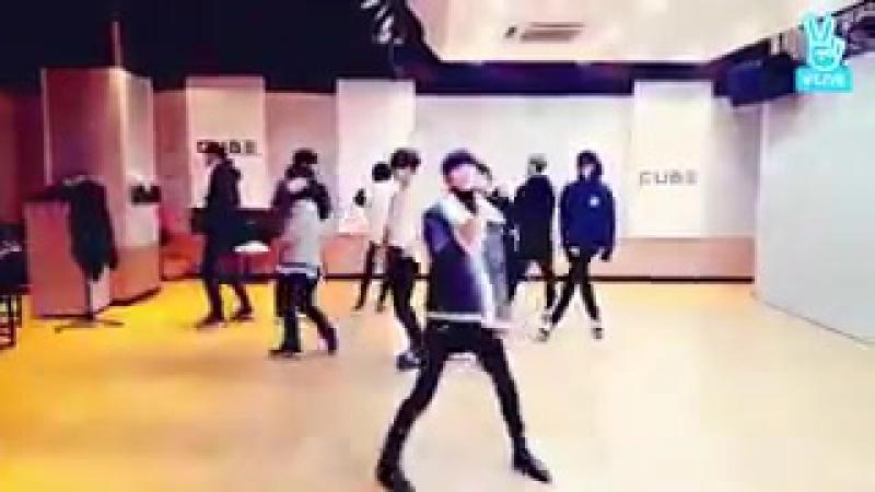 [161202] dance practice –미지근해 @ V-Aapp
