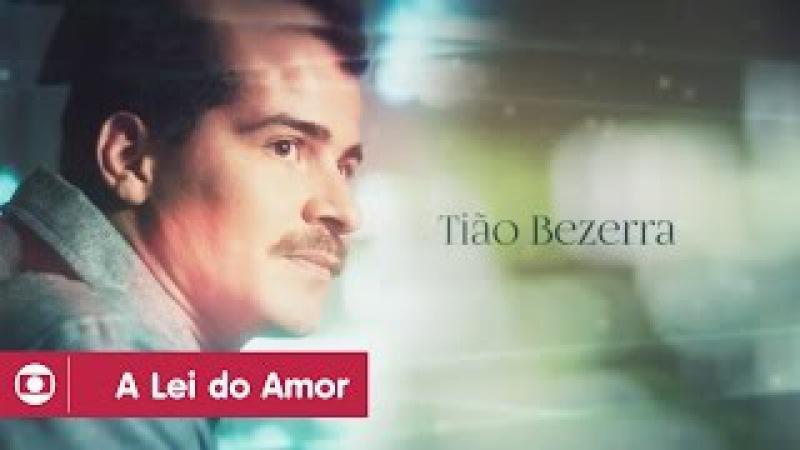 A Lei do Amor Thiago Martins vive Tião na juventude e José Mayer na versão adulta