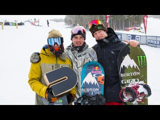 Mark McMorris & Darcy Sharpe: Team Burton - 1st Place Winners at the 2016 Dew Tour Team Challenge