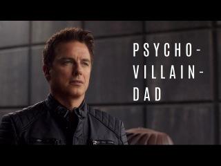 Malcolm Merlyn & Thea Queen: Psycho-Villain-Dad (Arrow)
