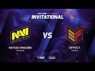 Natus Vincere vs Effect, Game 1, SL i-League Invitational S2, EU Qualifier