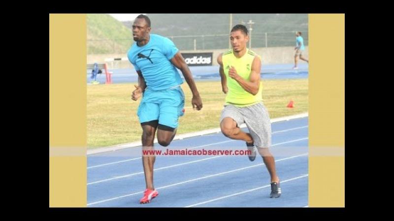 Wayde Van Niekerk Training